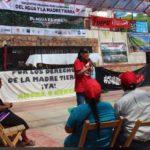 Indígenas rechazan Tren Maya, Transísmico y explotación del agua